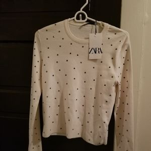 Zara studded sweater